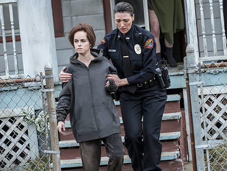A Screen shot of the film Cleveland Abduction.
